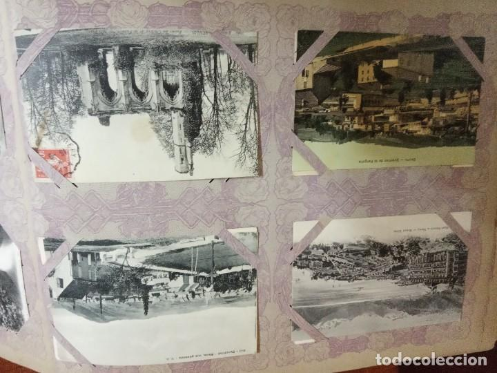 Sellos: ANTIGUO ALBUM CON 490 TARJETAS POSTALES FRANCIA. - Foto 107 - 226376160