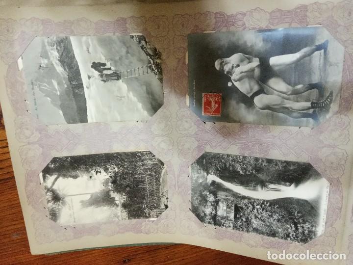 Sellos: ANTIGUO ALBUM CON 490 TARJETAS POSTALES FRANCIA. - Foto 108 - 226376160