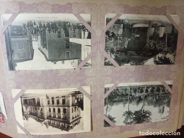 Sellos: ANTIGUO ALBUM CON 490 TARJETAS POSTALES FRANCIA. - Foto 109 - 226376160
