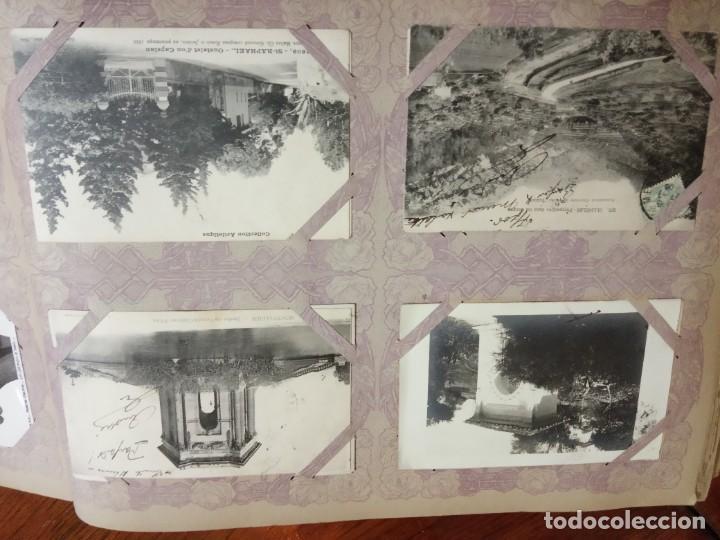 Sellos: ANTIGUO ALBUM CON 490 TARJETAS POSTALES FRANCIA. - Foto 119 - 226376160