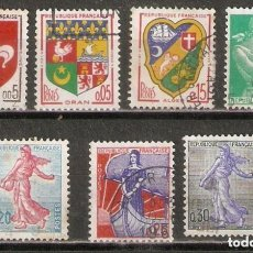 Timbres: FRANCIA.1960-61. YT 1230/1234A. Lote 227132935