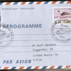 Sellos: FRANCIA.1983. AÉROGRAMME. PUERTAS ABIERTAS 1º. R.H.C. PHALSBOURG.. Lote 227488815