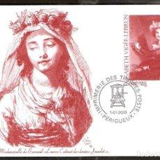 Sellos: FRANCIA. 2003. ENTERO POSTAL.ELISABETH VIGÉE-LEBRUN. Lote 227554345