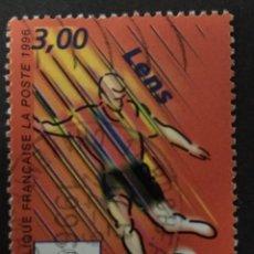 Sellos: FRANCIA 1996. FOOTBALL WORLD CUP 1998.. Lote 228349655