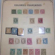 Sellos: COLONIES FRANCAISES / COLONIAS FRANCESAS. Lote 229269730