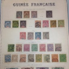 Sellos: GUINEA FRANCESA. Lote 229269820
