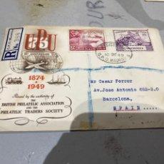 Sellos: 1949 UNIVERSAL POSTAL 75 AÑOS U.P.U . MAURITIUS . VER FOTOS. Lote 233871510