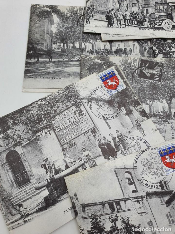 Sellos: LOTE POSTALES MARIGNANE ( BLANCO Y NEGRO ) FRANCIA - Foto 3 - 235085940
