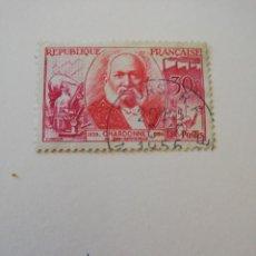 Sellos: REPUBLICA FRANCESA AÑO 1955 YT 1016. Lote 235264855