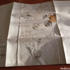 Sellos: CARTA DE FRANCIA DE 1885. Lote 235719250
