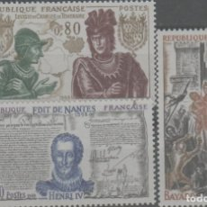 Sellos: LOTE Ñ-SELLOS FRANCIA NUEVOS SIN CHARNELA SERIE COMPLETA. Lote 236619545