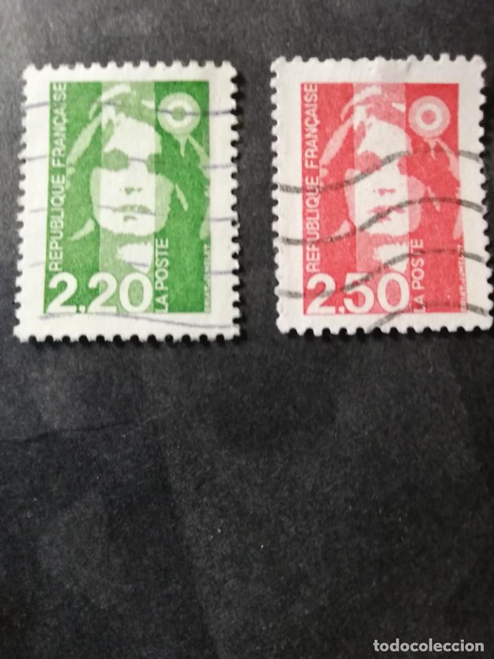 REPUBLICA FRANCESA AÑO 1991 YT 2718 Y 2719 (Sellos - Extranjero - Europa - Francia)