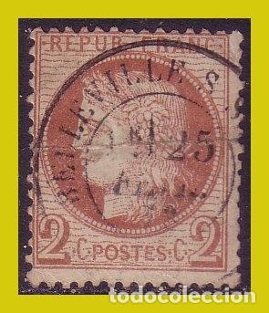 FRANCIA 1870 GOBIERNO PROVISIONAL, CERES , IVERT Nº 40B (O) (Sellos - Extranjero - Europa - Francia)
