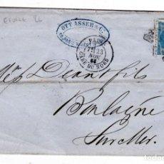 Sellos: CARTA FRANCIA AÑO 1866 PARIS. Lote 236902585