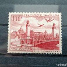 Sellos: FRANCIA, , AÑO 1949 NUEVO.28/AERO/ YVERT Y TELLIER.. Lote 238117655