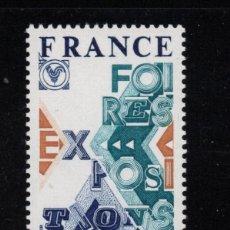Sellos: FRANCIA 1909** - AÑO 1976 - FERIAS Y EXPOSICIONES. Lote 268174129