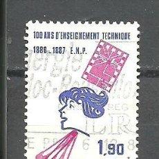 Sellos: FRANCIA 1986 - YVERT NRO. 2444 - USADO -. Lote 245129925
