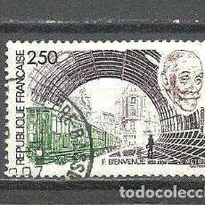 Sellos: FRANCIA 1987 - YVERT NRO. 2452 - USADO -. Lote 245130320