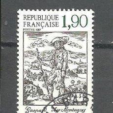 Sellos: FRANCIA 1987 - YVERT NRO. 2475 - USADO -. Lote 245130830