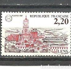 Sellos: FRANCIA 1987 - YVERT NRO. 2476 - USADO -. Lote 245130870