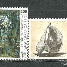 Sellos: FRANCIA 1987 - YVERT NRO. 2493-94 - USADO -. Lote 245131225