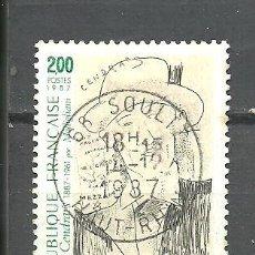 Sellos: FRANCIA 1987 - YVERT NRO. 2497 - USADO -. Lote 245131320