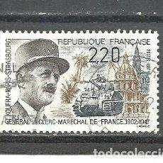 Sellos: FRANCIA 1987 - YVERT NRO. 2499 - USADO -. Lote 245131390
