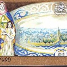 Sellos: ST-FRANCIA CARNET CRUZ ROJA 1990 ** SIN FIJASELLOS. Lote 246601105