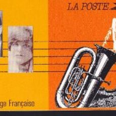 Sellos: ST-FRANCIA CARNET CRUZ ROJA . MÚSICOS CÉLEBRES 1992 ** SIN FIJASELLOS. Lote 246601515