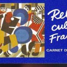 Sellos: ST-FRANCIA CARNET RELACIONES CULTURALES FRANCIA- SUECIA 1994 ** SIN FIJASELLOS. Lote 246602065