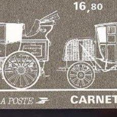 Sellos: ST-FRANCIA CARNET DIA DEL SELLO 1986 ** SIN FIJASELLOS. Lote 246602150