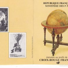 Sellos: ST-FRANCIA CARNET CRUZ ROJA. 1982 ** SIN FIJASELLOS. Lote 246602335