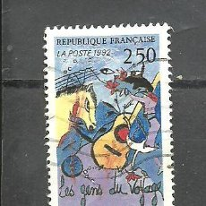 Sellos: FRANCIA 1992 - YVERT NRO. 2784 - USADO -. Lote 254285235