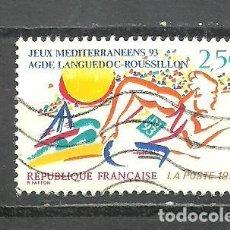 Sellos: FRANCIA 1993 - YVERT NRO. 2795 - USADO -. Lote 254285615