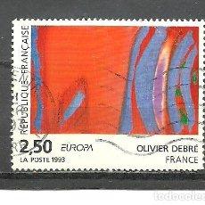 Sellos: FRANCIA 1993 - YVERT NRO. 2797 - USADO -. Lote 254285820