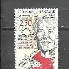 Sellos: FRANCIA 1993 - YVERT NRO. 2809 - USADO -. Lote 254285855