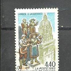 Sellos: FRANCIA 1993 - YVERT NRO. 2827 - USADO -. Lote 254286045