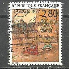 Sellos: FRANCIA 1993 - YVERT NRO. 2844 - USADO -. Lote 254286445
