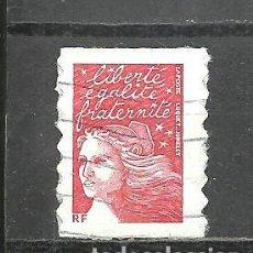Sellos: FRANCIA 2001 - YVERT NRO. 3317 - USADO -. Lote 254286635