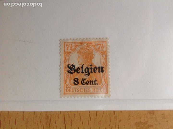 SELLOS DE BÉLGICA. (DEUTSCHE REICH BELGIEN) (Sellos - Extranjero - Europa - Francia)