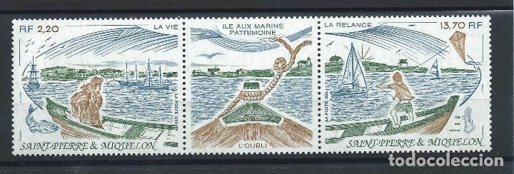 ST PIERRE ET MIQUELON N°509A** (MNH) 1989 - ÎLE AUX MARINS (Sellos - Extranjero - Europa - Francia)
