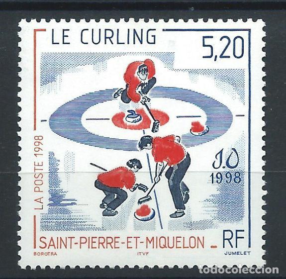 ST PIERRE ET MIQUELON N°670** (MNH) 1998 - J.O À MAGANO (Sellos - Extranjero - Europa - Francia)