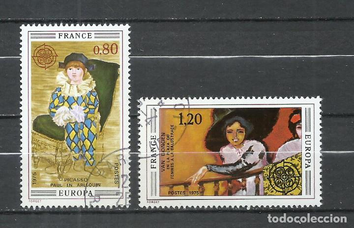 FRANCIA - 1975 - MICHEL 1915/1916 - USADO (Sellos - Extranjero - Europa - Francia)