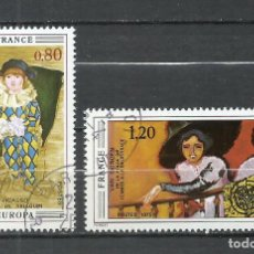 Sellos: FRANCIA - 1975 - MICHEL 1915/1916 - USADO. Lote 255965915
