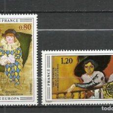 Sellos: FRANCIA - 1975 - MICHEL 1915/1916** MNH. Lote 255966230