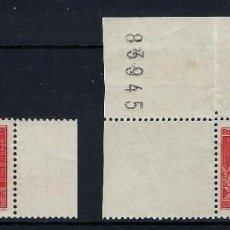 Sellos: FRANCIA 1937 Nº 341/342 **. Lote 257394675