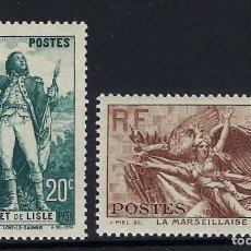 Sellos: FRANCIA 1936 Nº 314/315 **. Lote 257397915