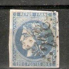 Sellos: FRANCIA. 1870. CÉRÉS. YT 44. Lote 257804165