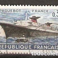 Sellos: FRANCIA.1962. YT.Nº 1325. BARCO. Lote 257810680