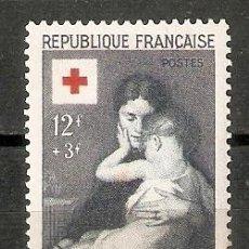 Sellos: FRANCIA.1954. YT 1006. CRUZ ROJA. Lote 257812030